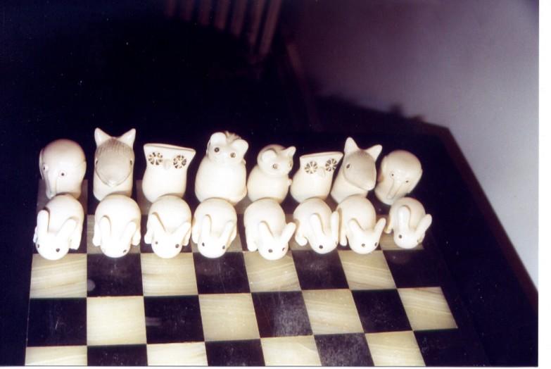 Animal chess set